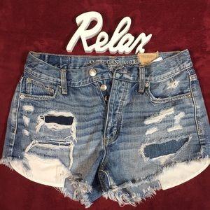 NWOT A&E Jean shorts
